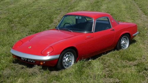 1966 Lotus Elan S3 Coupe Special Equipment For Sale SOLD (picture 4 of 6)