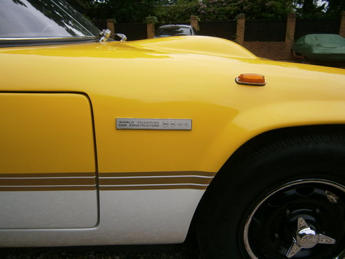 1971 LOTUS ELAN SPRINT GEN. FAC. DHC/LHD '71 *PROVISIONALLY SOLD* For Sale (picture 2 of 6)