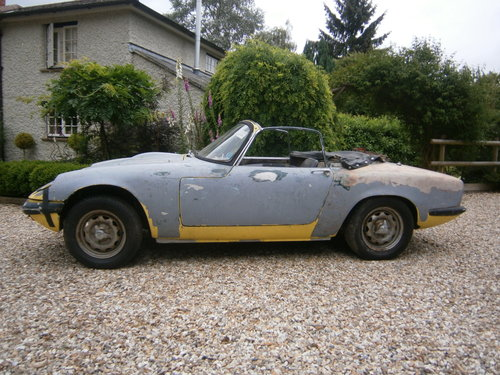 1967 LOTUS ELAN S3 DHC CORRECT FACT'Y TYPE 45 & LHD  *SOLD*. For Sale (picture 1 of 6)