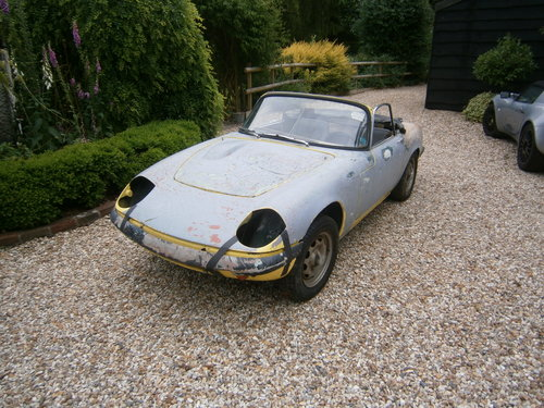 1967 LOTUS ELAN S3 DHC CORRECT FACT'Y TYPE 45 & LHD  *SOLD*. For Sale (picture 2 of 6)