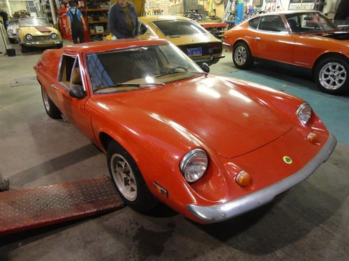 red 1971 Lotus Europe in good condition For Sale (picture 1 of 6)