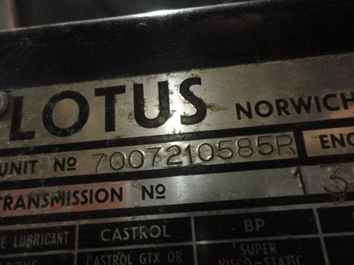 red 1971 Lotus Europe in good condition For Sale (picture 5 of 6)