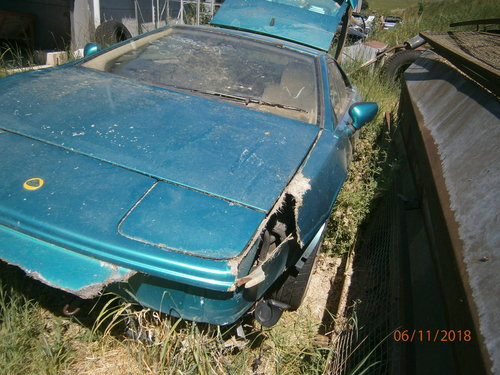 Lotus Esprit S4 in Medina Green 1994 Cream leather For Sale (picture 3 of 6)