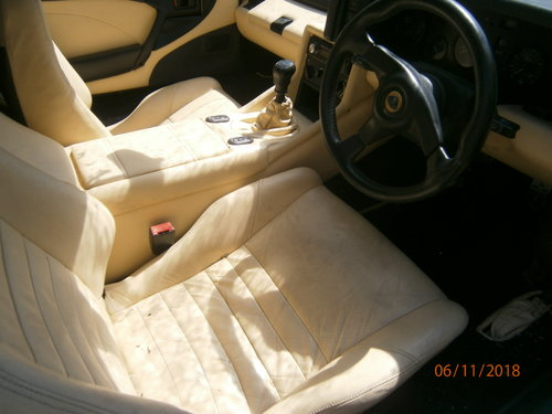 Lotus Esprit S4 in Medina Green 1994 Cream leather For Sale (picture 4 of 6)