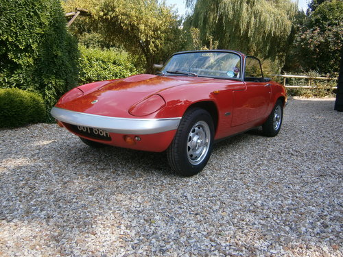 1970 LOTUS ELAN S4 SE DHC **SOLD **SOLD **SOLD** For Sale (picture 3 of 6)