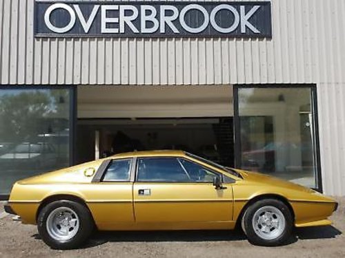 1979 LOTUS ESPRIT S2  For Sale (picture 1 of 1)