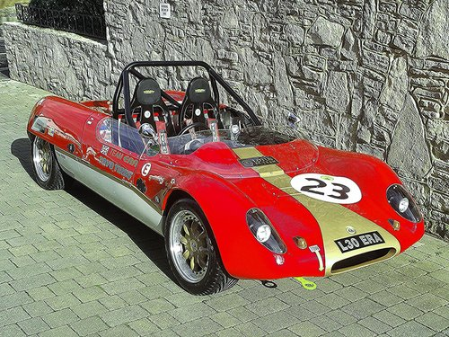 1963 LOTUS 23 REPLICA BY TIGER RACING ERA 30 SOLD (picture 6 of 6)