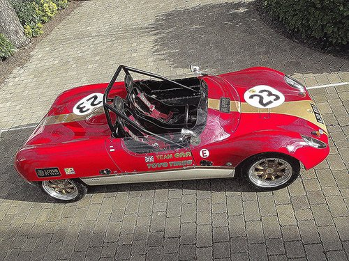 1963 LOTUS 23 REPLICA BY TIGER RACING ERA 30 SOLD (picture 2 of 6)