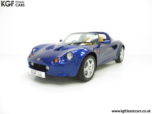 1998 An Impeccable Lotus Elise S1 with One Owner and 4,757 miles SOLD (picture 2 of 6)