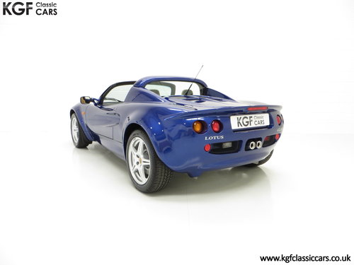 1998 An Impeccable Lotus Elise S1 with One Owner and 4,757 miles SOLD (picture 4 of 6)
