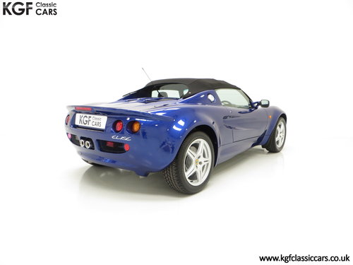 1998 An Impeccable Lotus Elise S1 with One Owner and 4,757 miles SOLD (picture 5 of 6)