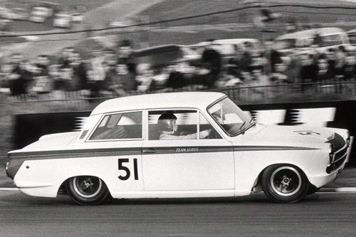1966 LOTUS CORTINA GROUP 5 WORKS COMPETITION CAR SOLD (picture 1 of 6)