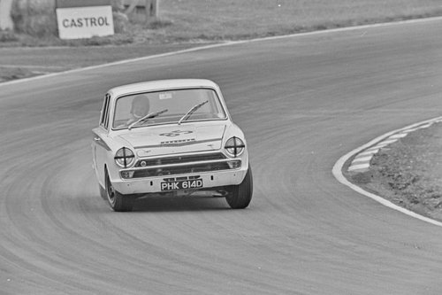 1966 LOTUS CORTINA GROUP 5 WORKS COMPETITION CAR SOLD (picture 4 of 6)