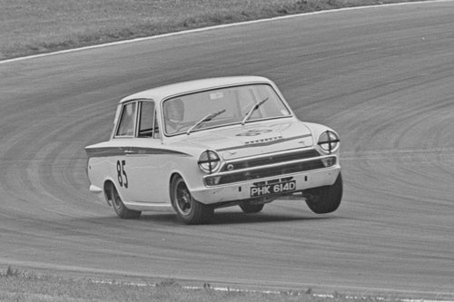 1966 LOTUS CORTINA GROUP 5 WORKS COMPETITION CAR SOLD (picture 6 of 6)