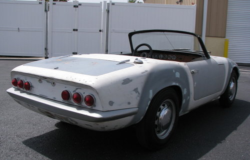 1965 Lotus Elan S2, restoration's project SOLD (picture 2 of 6)
