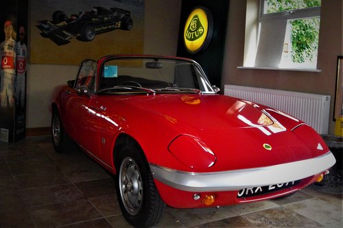 1967 Lotus Elan S3 S/E DHC-Peter Day Reconstruction-A Model Car! SOLD (picture 1 of 6)