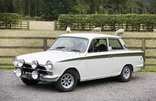 1966 Ford Lotus Cortina Mk.I Rally Car **SOLD** For Sale (picture 1 of 6)