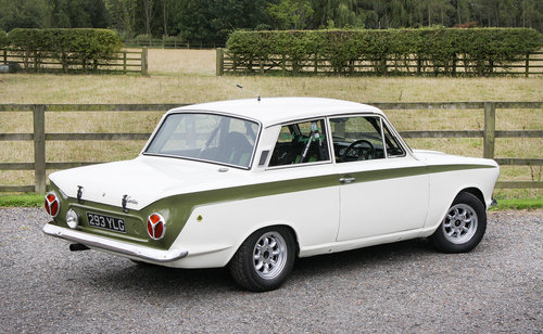 1966 Ford Lotus Cortina Mk.I Rally Car **SOLD** For Sale (picture 2 of 6)