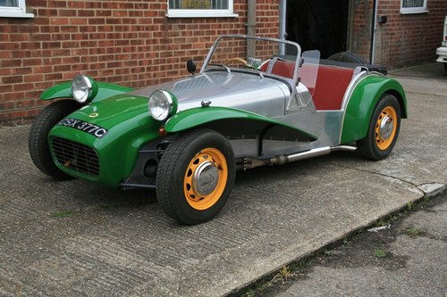 1965 Lotus Seven S2 SOLD (picture 1 of 6)