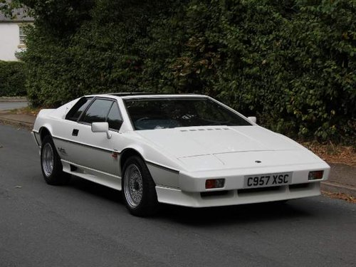 Lotus Esprit Turbo - 1985 Motorshow Car, 67k miles from new For Sale (picture 1 of 6)