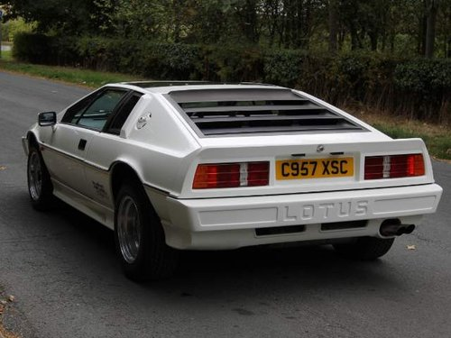Lotus Esprit Turbo - 1985 Motorshow Car, 67k miles from new For Sale (picture 3 of 6)