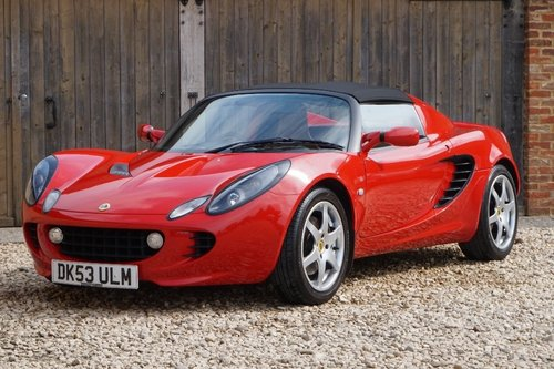 2003 LOTUS ELISE 11,800 MILES ABSOLUTELY STUNNING For Sale (picture 1 of 6)