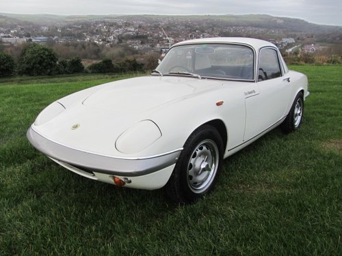 1967 Lotus Elan S3 Coupe SE  SOLD (picture 1 of 6)