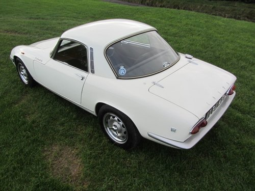 1967 Lotus Elan S3 Coupe SE  SOLD (picture 2 of 6)