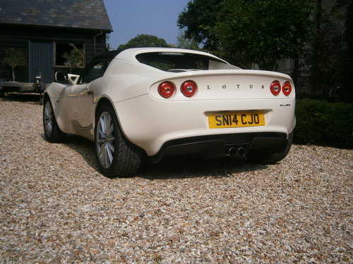 2014 LOTUS ELISE MK3 16V CLUB RACER  IMMACULATE  LOW MILEAGE SOLD For Sale (picture 2 of 6)