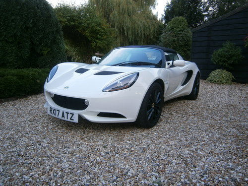 2017 LOTUS ELISE SPORT MK3 16V METALLIC WHITE LOW MILES *SOLD* SOLD (picture 1 of 6)