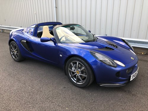 2006 LOTUS ELISE 1.8 111R 16V TOURING SUPERCHARGED SOLD (picture 1 of 5)
