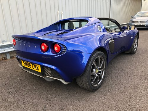 2006 LOTUS ELISE 1.8 111R 16V TOURING SUPERCHARGED SOLD (picture 3 of 5)