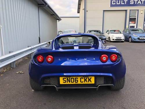 2006 LOTUS ELISE 1.8 111R 16V TOURING SUPERCHARGED SOLD (picture 4 of 5)