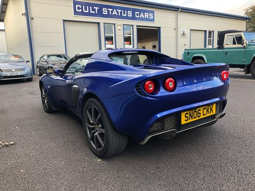 2006 LOTUS ELISE 1.8 111R 16V TOURING SUPERCHARGED SOLD (picture 5 of 5)