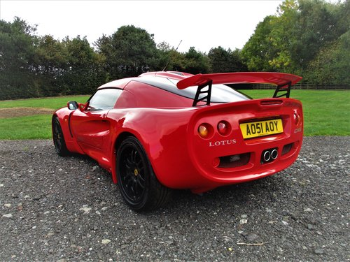 2001 LOTUS EXIGE 16V Coupe - Only 7K On The Clock! Immacalute!!   SOLD (picture 3 of 6)