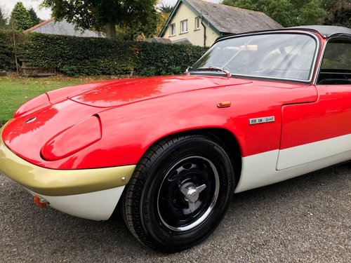 1972 LOTUS ELAN SPRINT DHC GOLD LEAF NUT & BOLT RESTORATION SOLD (picture 4 of 6)