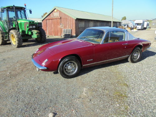 Lotus Elan +2 S 1969 For Sale (picture 1 of 5)
