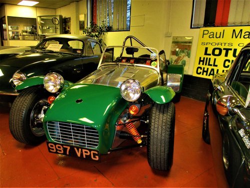 1961 LOTUS SEVEN - Beautifully rebuilt & fantastically developed! For Sale (picture 2 of 6)