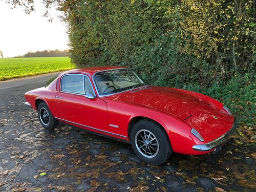Lotus Elan+2S130/5, 1973.  Stunning example in Calypso Red. For Sale (picture 1 of 6)