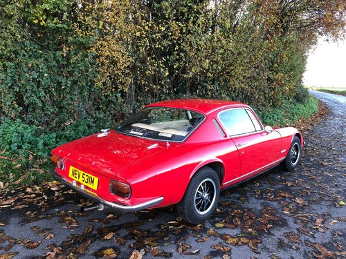 Lotus Elan+2S130/5, 1973.  Stunning example in Calypso Red. For Sale (picture 3 of 6)