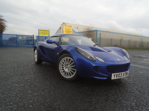 2003 LOTUS ELISE 135R  RAREST OF THE RARE ONLY 100 BUILT LTD For Sale (picture 1 of 6)