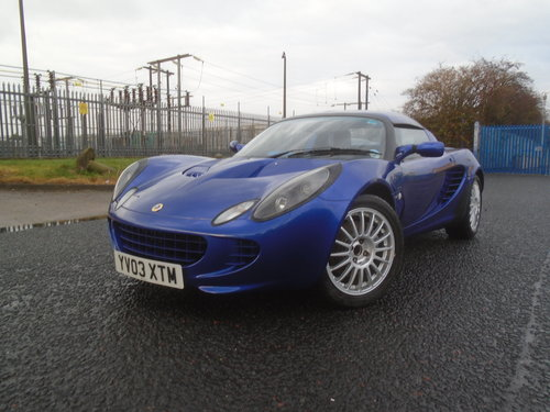2003 LOTUS ELISE 135R  RAREST OF THE RARE ONLY 100 BUILT LTD For Sale (picture 2 of 6)