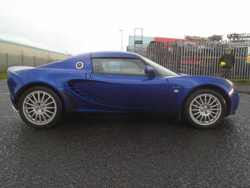 2003 LOTUS ELISE 135R  RAREST OF THE RARE ONLY 100 BUILT LTD For Sale (picture 3 of 6)