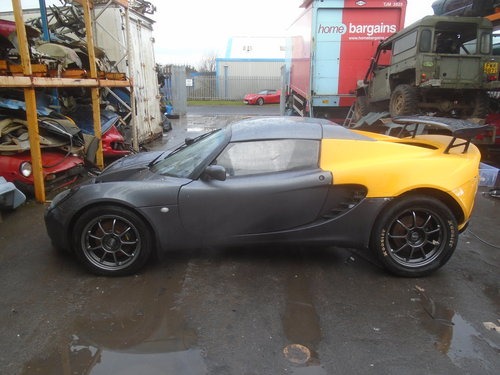 2002 LOTUS ELISE PROJECT CAR ROAD .DRAG RACE CAR For Sale (picture 2 of 6)