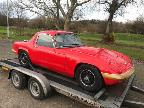 LOTUS ELAN SPRINT WANTED IN ANY CONDITION Wanted (picture 6 of 6)
