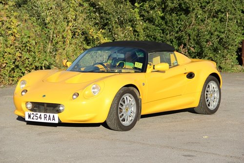 2000 Lotus Elise S1 For Sale (picture 1 of 6)