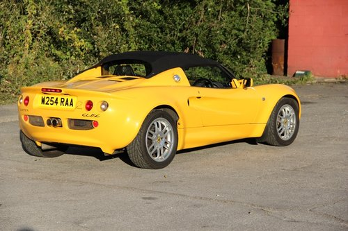 2000 Lotus Elise S1 For Sale (picture 3 of 6)