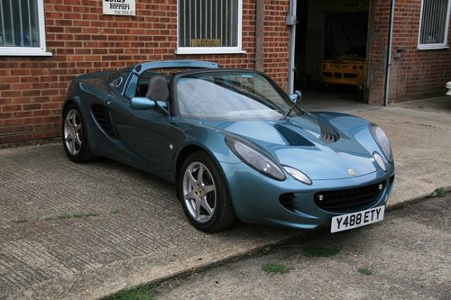 2001 Lotus Elise S2  For Sale (picture 1 of 3)