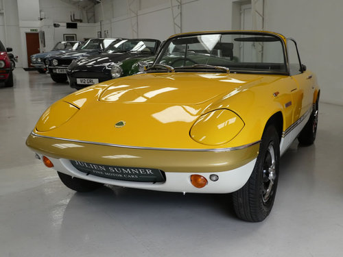 1973 Lotus Sprint DHC  SOLD (picture 1 of 6)
