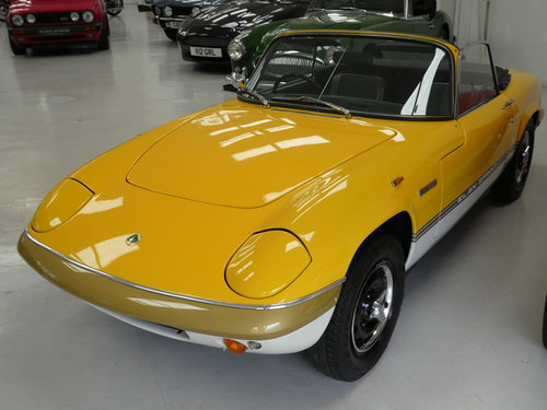 1973 Lotus Sprint DHC  SOLD (picture 2 of 6)